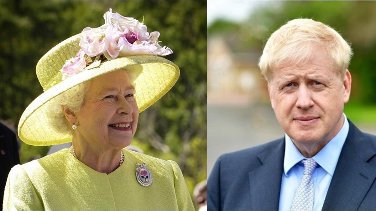 強森偕女友拜會女王 「一動作」恐犯皇室大忌