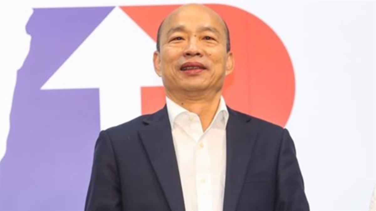 韓國瑜元旦挑台南升旗 網曝2關鍵人物