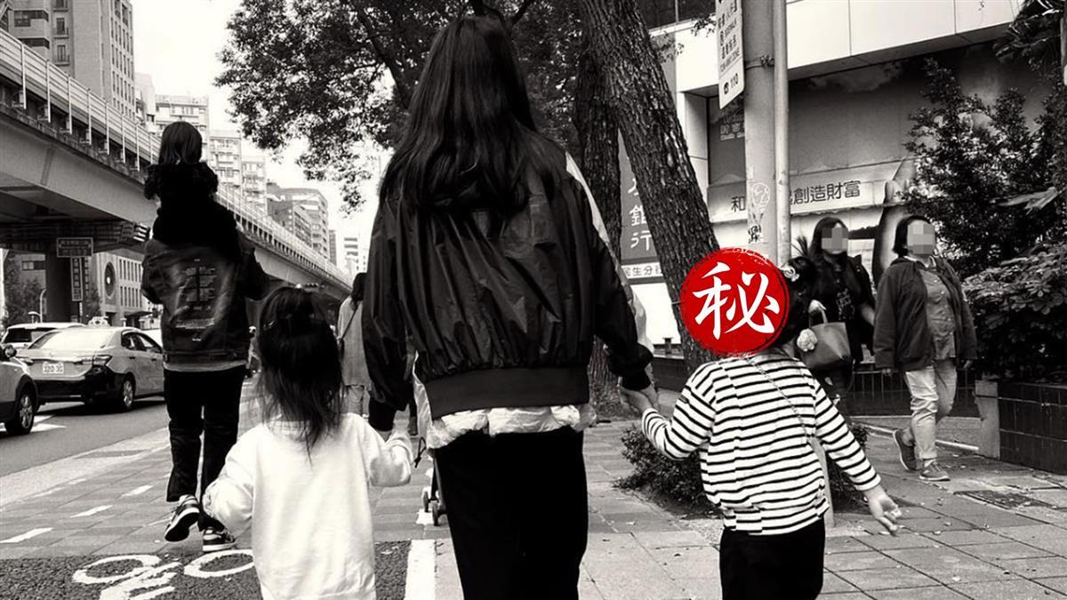 梧桐妹帶妹妹散步照曝 咘咘眼神超有戲
