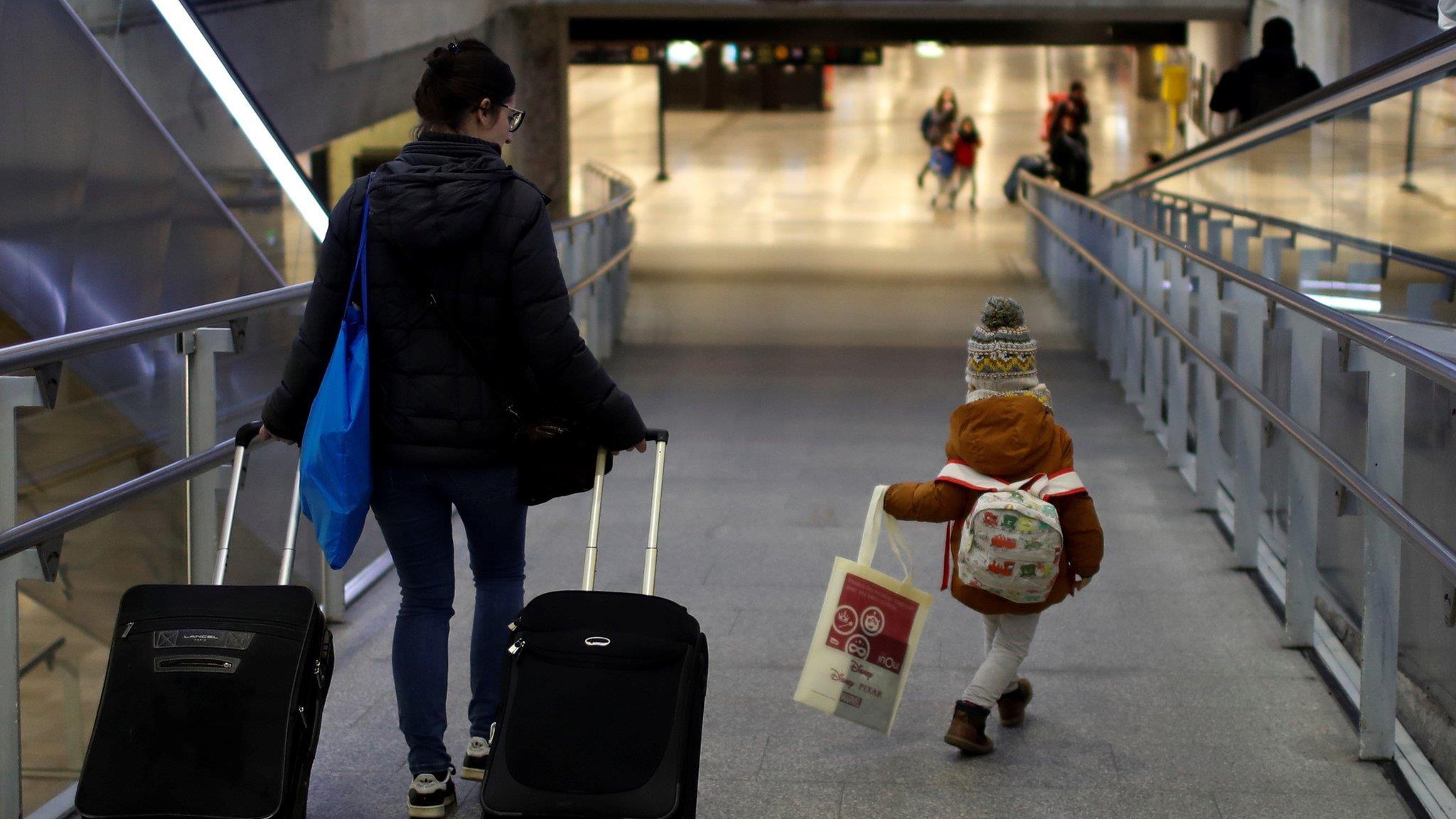 法國罷工:各方力保不砍的聖誕兒童專列