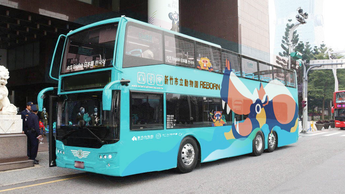 樂樂號來了!12/28、29週末限定 新竹市雙層觀光巴士登場