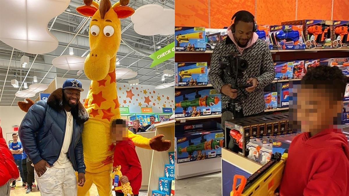 歌手霸氣包下整間玩具店  送兒子當聖誕禮物