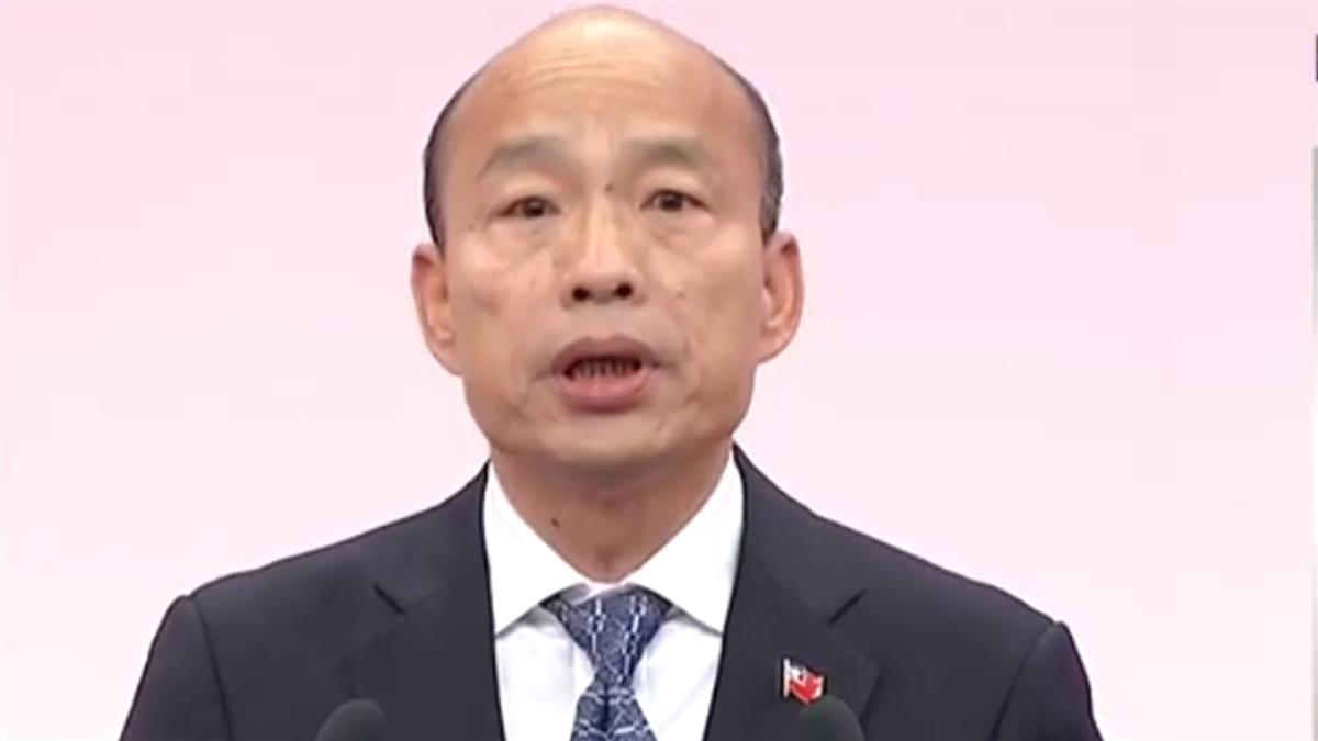 轟蔡3遺憾 韓國瑜拋5政見:為民做牛做馬