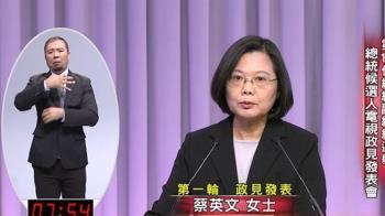 蔡再嗆韓用馬633團隊!「選總統不是選總機」