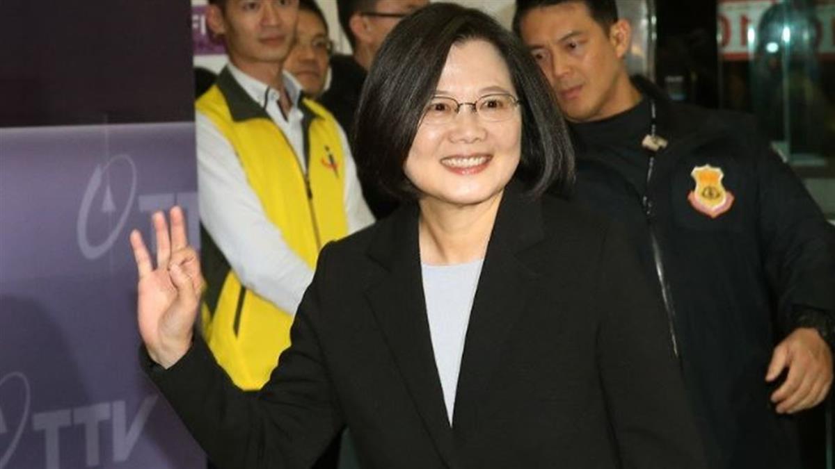 蔡總統批韓國瑜 用虛幻武俠小說方式描述民進黨