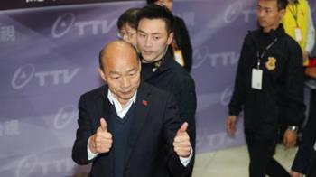韓:總統不是讀稿機 蔡對不起盼安居樂業支持者