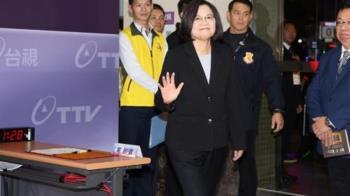蔡英文稱韓國瑜「韓總機」 質疑借600萬都講不清