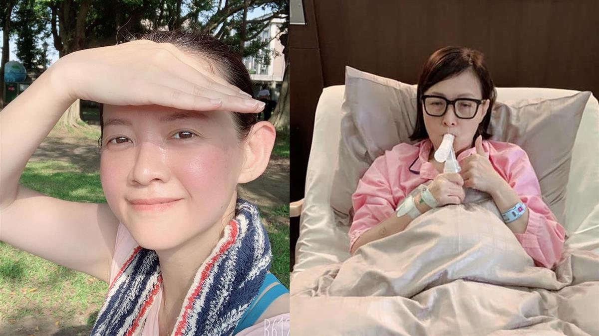 寶媽罹肺腺癌開刀 曾寶儀吐心聲說話了
