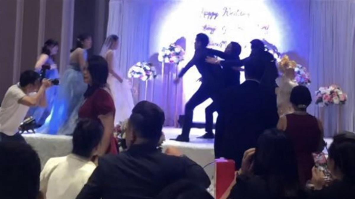 新郎復仇!婚禮播新娘動作片 男主角是姐夫