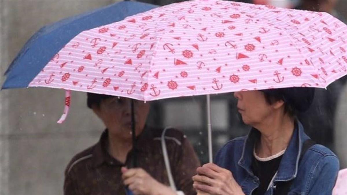 台南大雨特報!全台有雨到跨年 下探14度