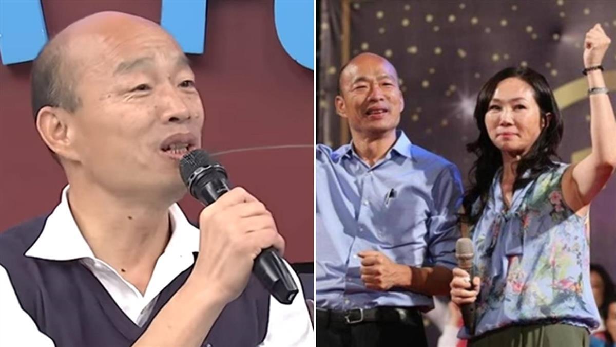 韓國瑜親回桃色風波 曝與李佳芬吵架內幕