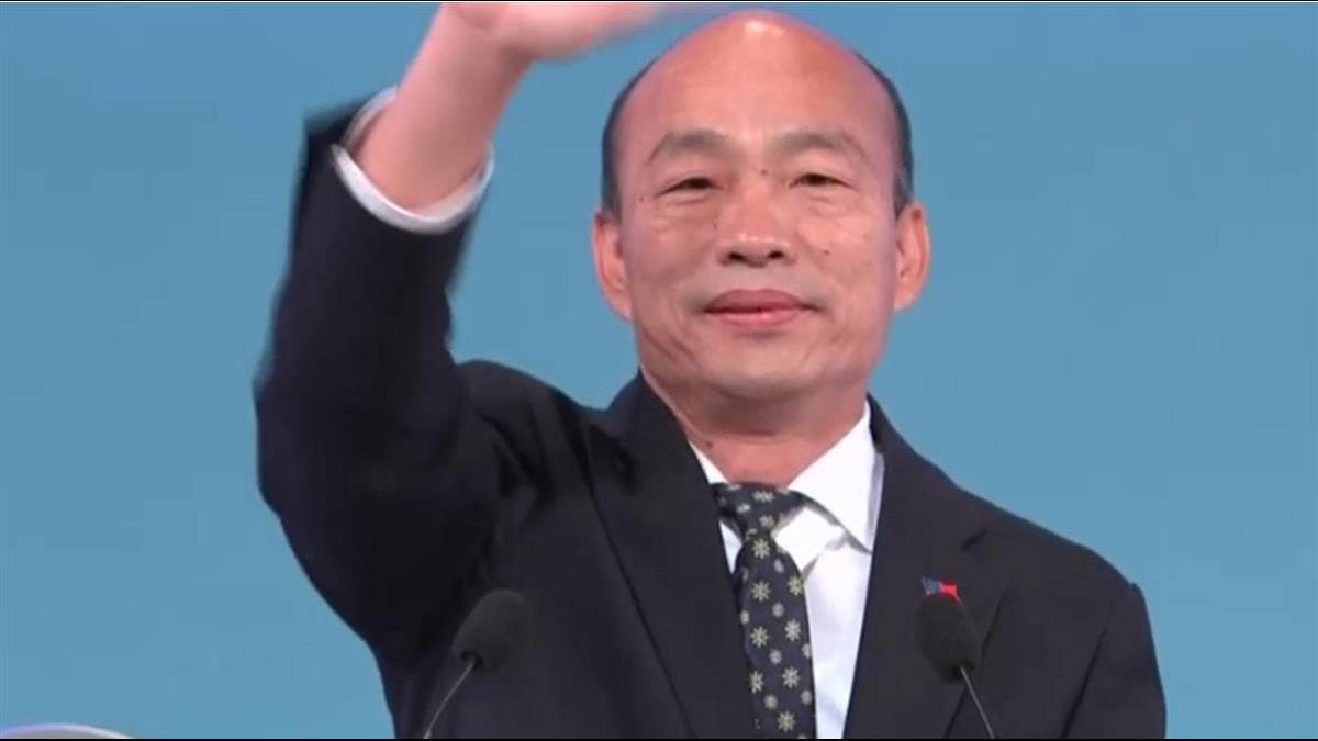 韓國瑜才批馬英九敗在「軟」 臉書秒改口:人善心軟