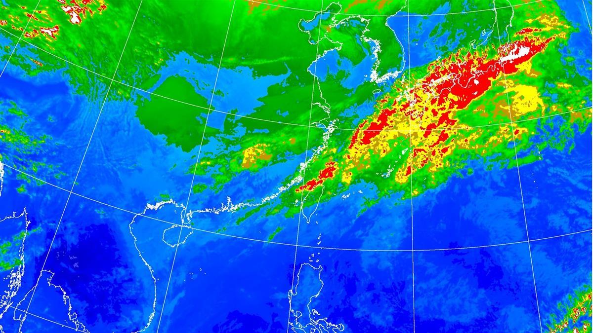 全台濕冷!這7縣市大雨特報 入夜氣溫直直落