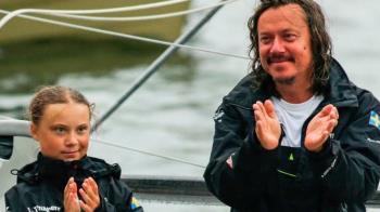 瑞典環保少女格蕾塔·桑伯格父親:不想女兒在社運方面走得太前