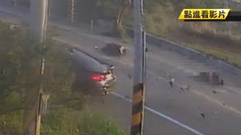 BMW新車台中試駕 逆向撞機車釀2死