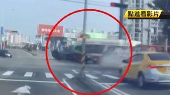 拖板車追撞多車墜橋!貨車翻覆 駕駛、乘客身亡