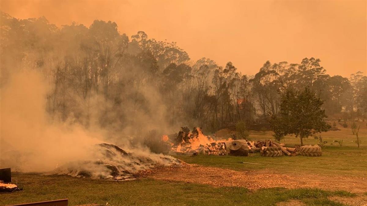 澳洲野火持續焚燒 疏散群眾返家遙遙無期