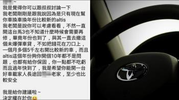 22萬買二手車縮缸!他求助學弟業務 還遭推銷63萬5年神A