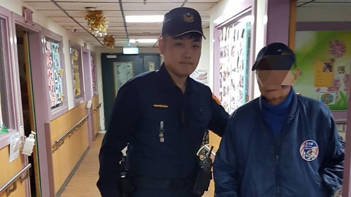 老爺爺搭公車探望愛妻迷路 高雄警急救援