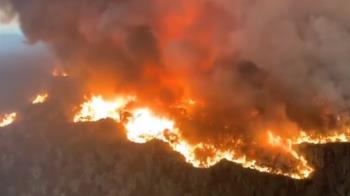 澳洲野火肆虐燒掉3個台灣 恐再持續1個月