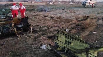 烏克蘭波音737墜毀伊朗 機上176人全罹難