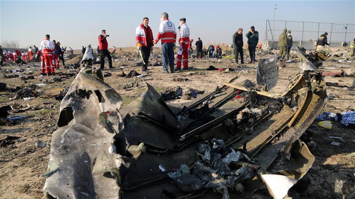 否認恐攻釀墜機 烏克蘭駐伊朗使館:發動機故障