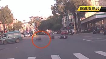 移工疑趕上班闖紅燈 路口遭撞1死1傷