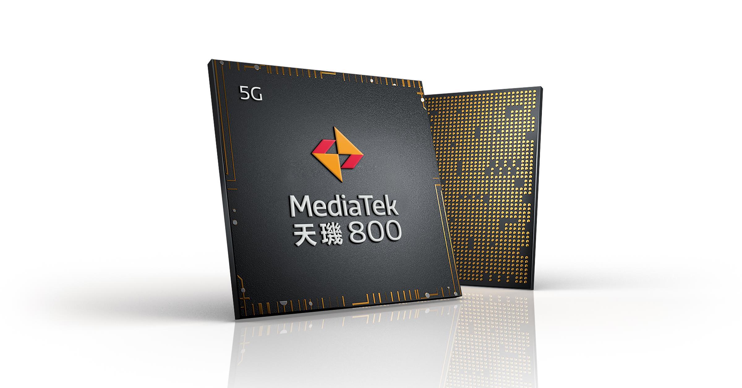 聯發科 5G 晶片「天璣 800」正式登場,相關產品 2020 上半年問市