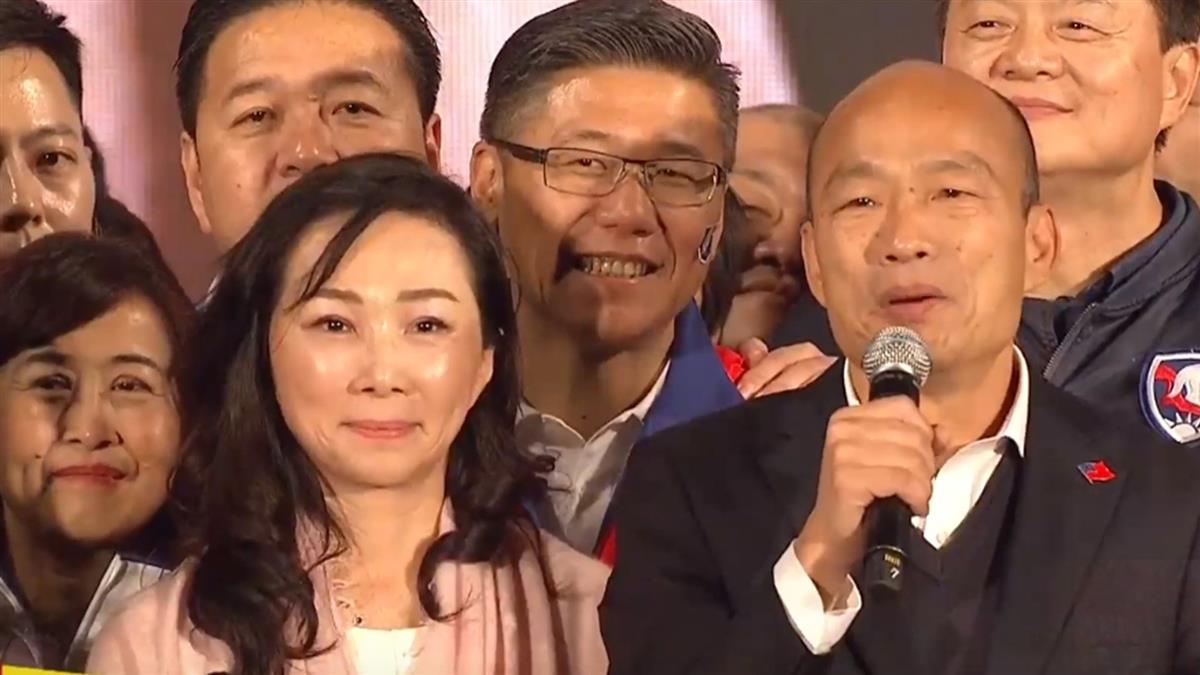 百萬韓粉集結!韓國瑜轟綠像金光黨:完全貪汙腐敗