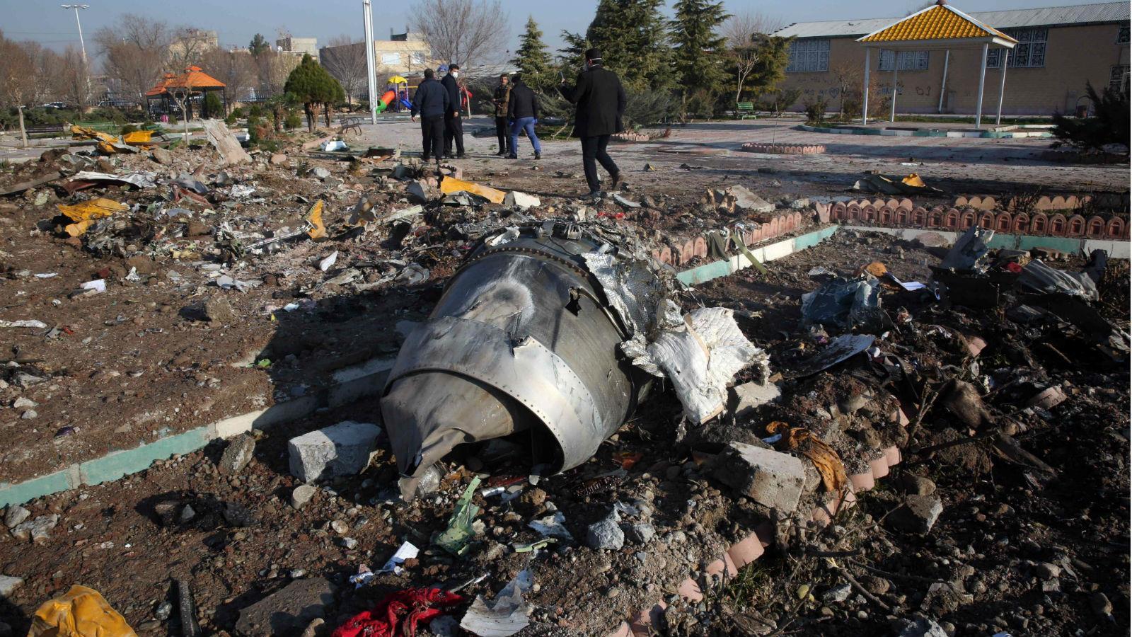 美國情報官員:烏克蘭客機或被伊朗導彈誤擊墜毀