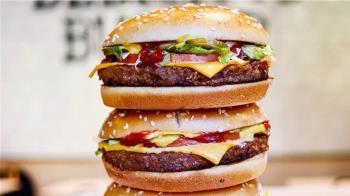 麥當勞搶攻素食市場 擴大素肉漢堡試賣