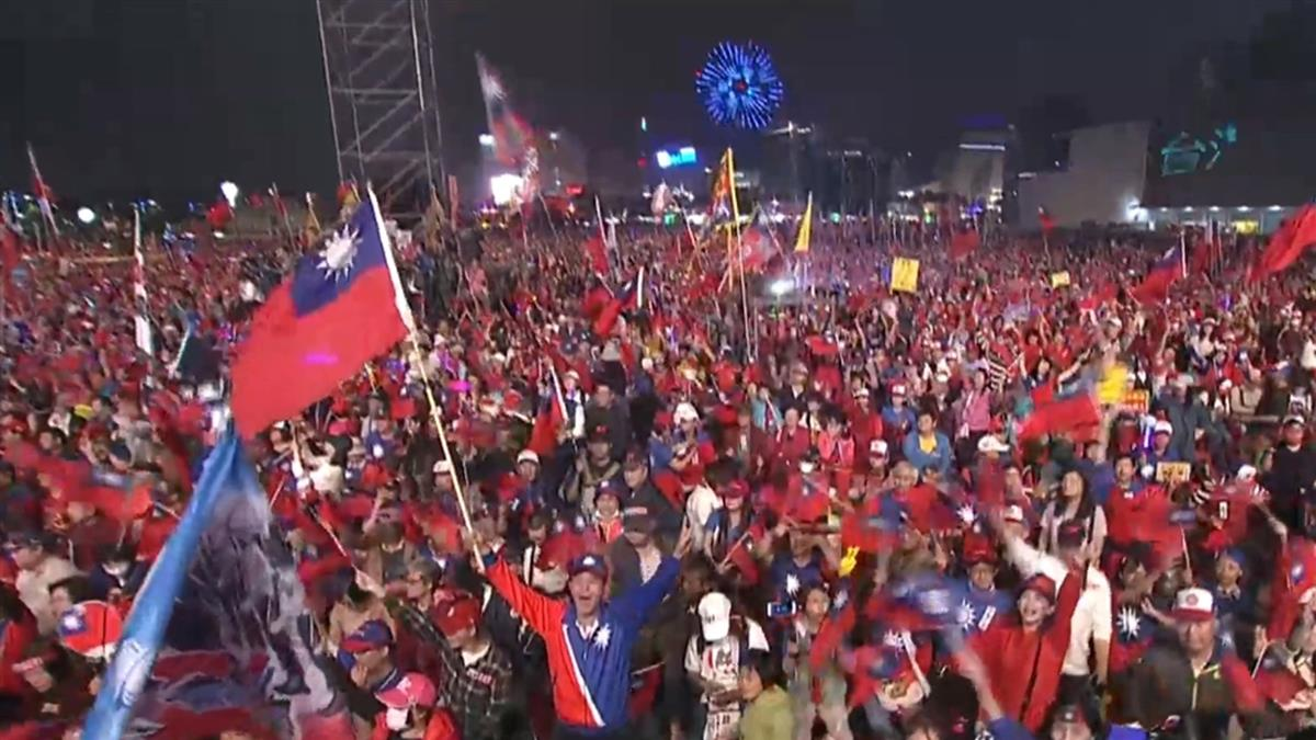 選前最終戰!韓國瑜高雄造勢喊出破6萬人