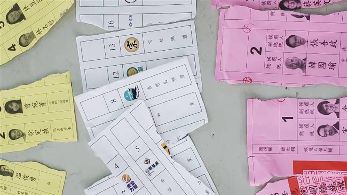投票插曲!苗栗男蓋錯章 竟撕毀3張選票