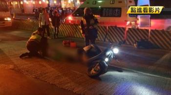 國中男女雙載夜遊 擦撞貨車1死1傷