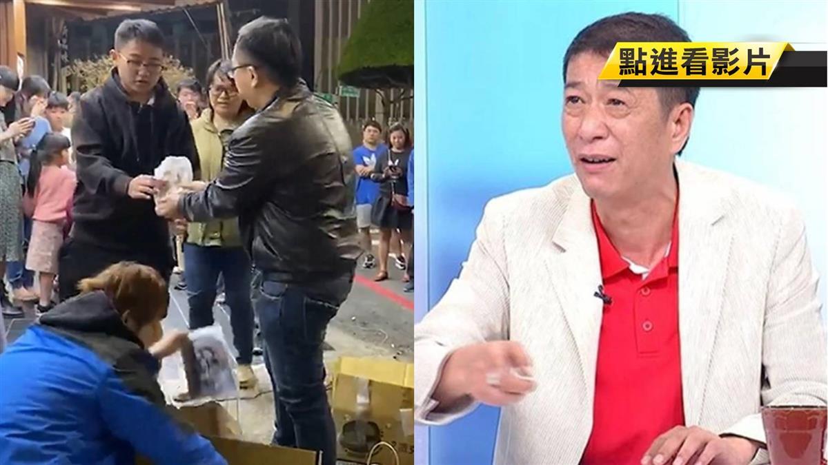 慶林國慶當選嘉義縣民 小商人豪發150份雞排