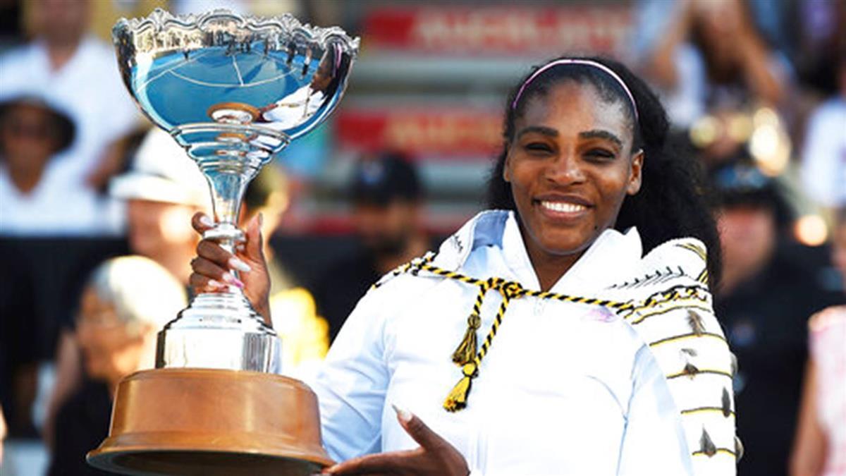 小威廉絲奧克蘭網賽封后 結束3年冠軍荒