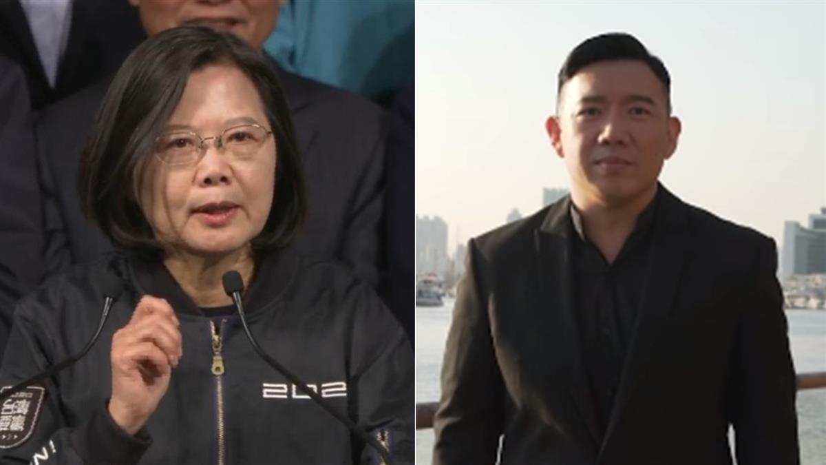 賀蔡英文守住民主 杜汶澤:救助流亡台灣港人
