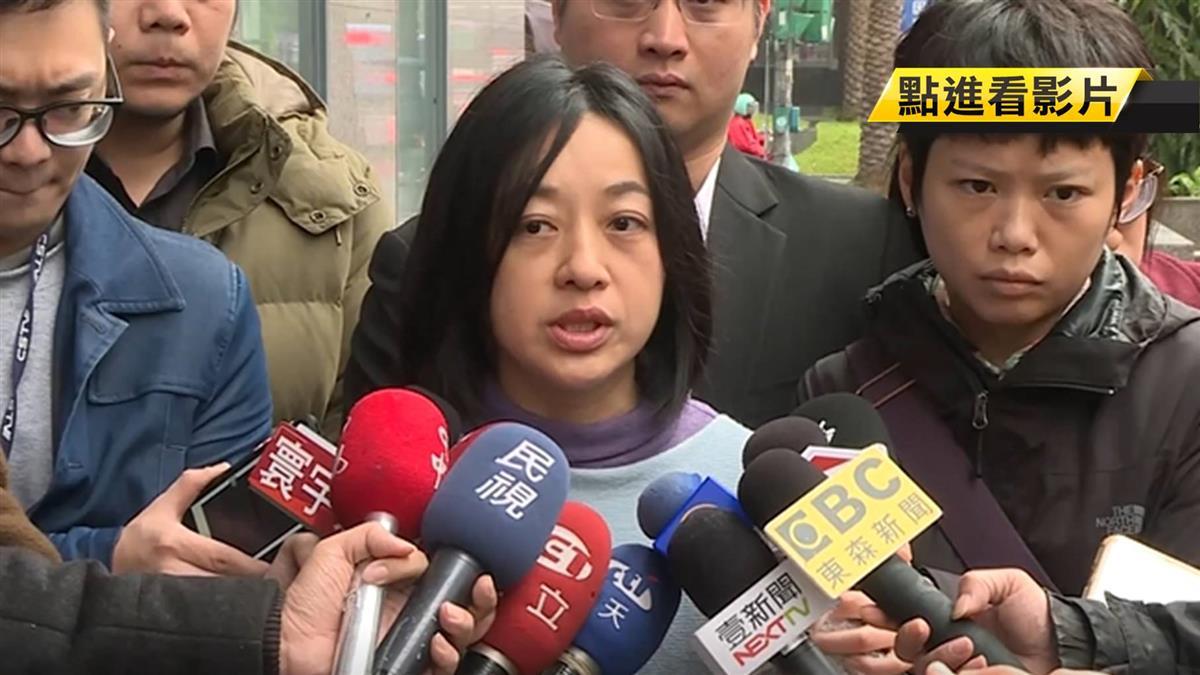 勝選遭網友威脅 小燈泡媽王婉諭赴警局提告