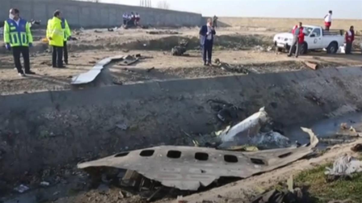 飛彈誤擊客機!伊朗爆示威潮批領袖下台