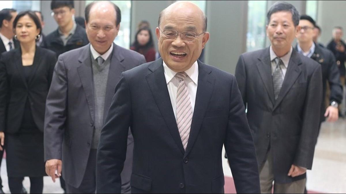 行政院舉行臨時院會 預料將提內閣總辭