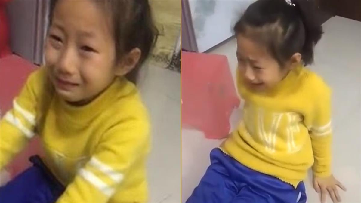 女童寫不出「我的繽紛世界」 淚吐1句惹心疼