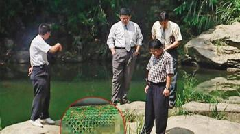石碇秘潭突漂綠浮籠 驚揭恐怖離奇雙屍案
