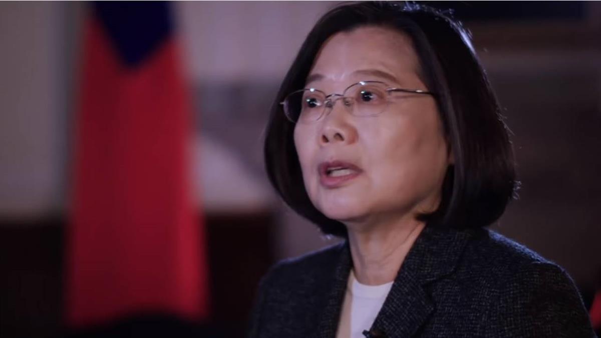 總統接受BBC專訪:我們是獨立國家 中國應予尊重
