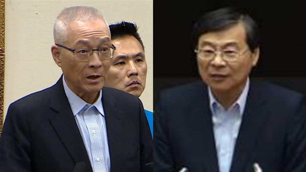 吳敦義准辭國民黨主席 曾銘宗代理秘書長