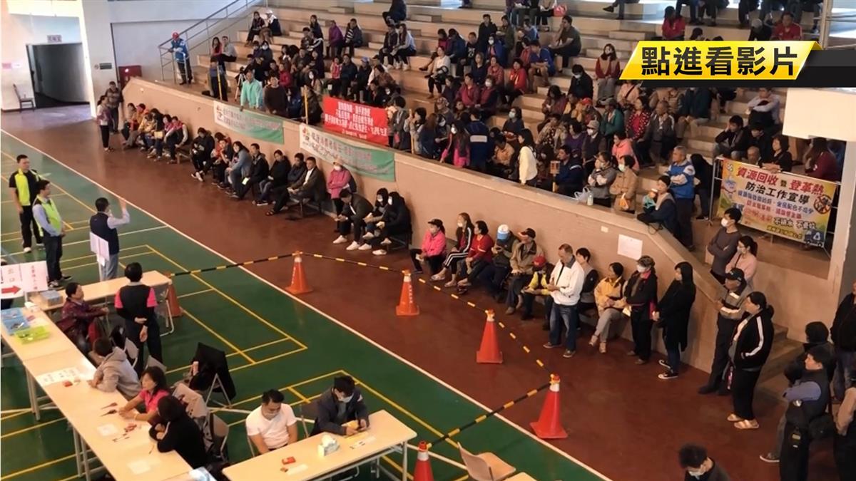 潮州春節市集抽籤 在地人抗議攤位數不公