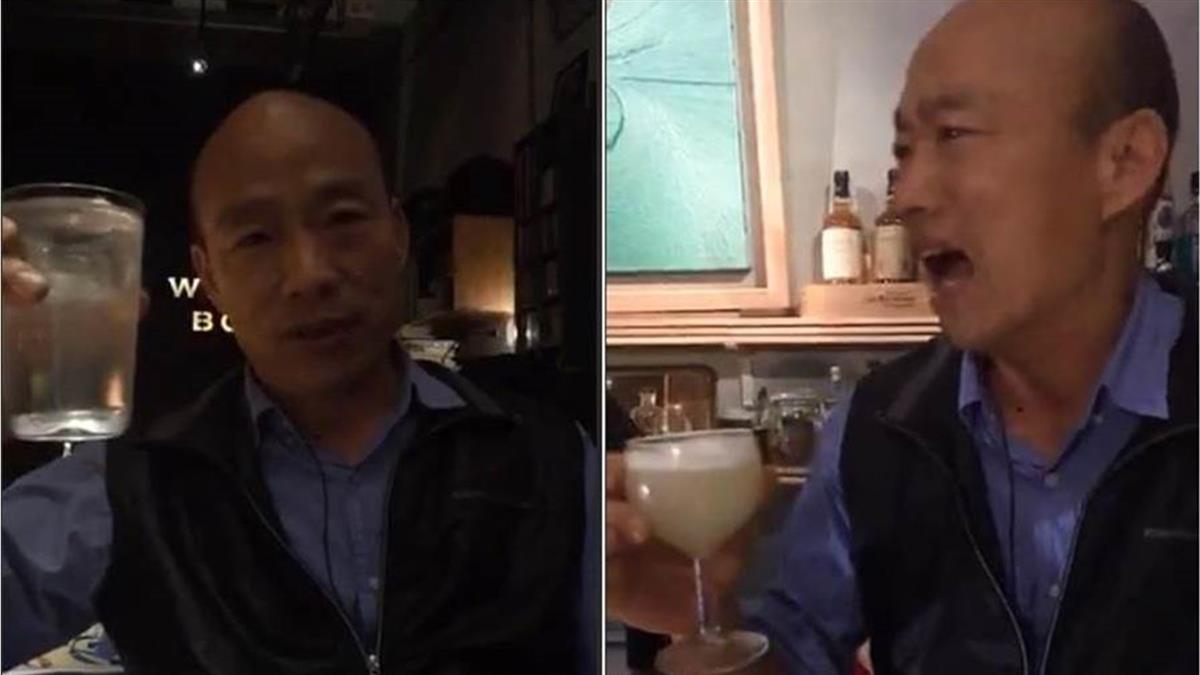 韓國瑜選後被大爆料!謝金河曝「每天酒不喝睡不著」