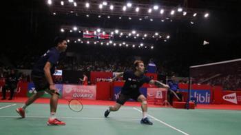 盧敬堯與楊博涵今年首勝 闖印尼羽球大師賽16強