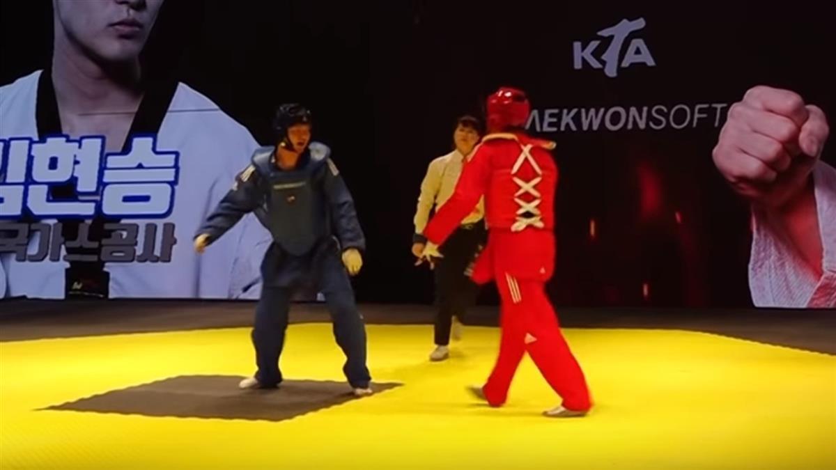 跆拳道成格鬥遊戲?韓國引進「血條系統」 對戰更熱血