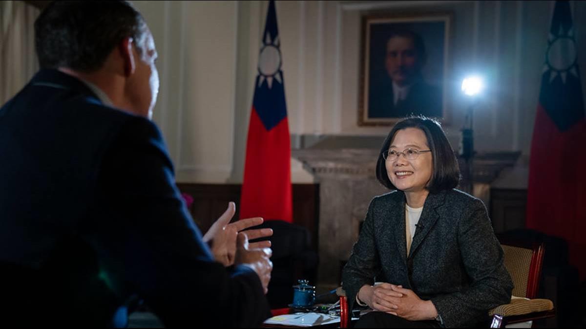蔡英文BBC專訪登Reddit熱搜 美國鄉民笑:西台灣要氣炸