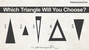 超準!直覺選出最愛三角形 看出你的「真實性格」
